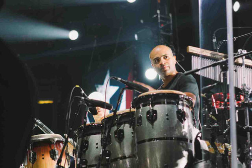 Eric Velez is the famous latin percussionist that currently works with the Marc Anthony band and formerly toured with Jennifer Lopez.  Eric is available for private lessons with ZVA exclusively both online and in ZVA's Boca Raton, FL studio
