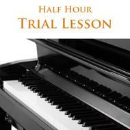 Piano Trial Lesson Half Hour