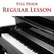 Piano Regular Lesson Full Hour