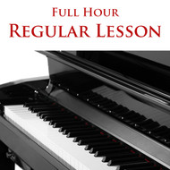 Piano Regular Lesson Full Hour