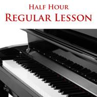 Piano Regular Lesson Half Hour
