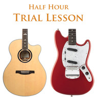 Guitar Trial Lesson Half Hour