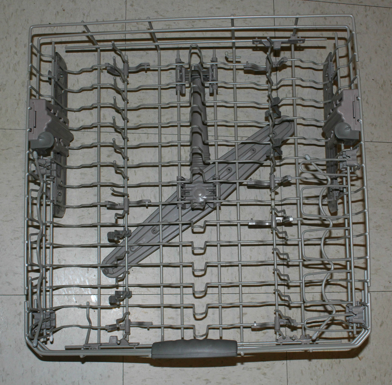 Lower Rack Parts Diagram And Parts List For Whirlpool Dishwasherparts