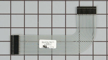 Dishwasher User Interface Ribbon Cable WP8524447