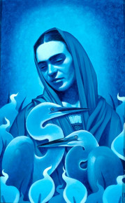 Mujer Azul II