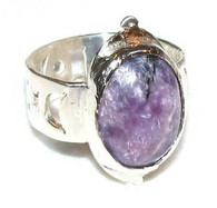 """Charry Night"" Ring"