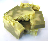 Organic Hemp Soap - Lemongrass & Green Tea