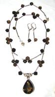 """Amulet"" Necklace & Earring Set"