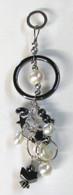 Hematite Round Pearl Pendant