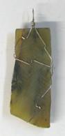 Jade Slice Wrap Pendant