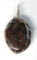 Red Jasper Wrap Pendant