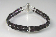 Garnet Double Strand Bracelet