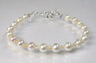 Pearl & Mini Pearl Bracelet