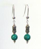 Turquoise Bali Earrings