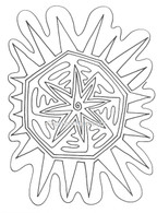Labyrinthia Printable Colouring & Meditation Page 20
