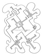 Labyrinthia Printable Colouring & Meditation Page 27