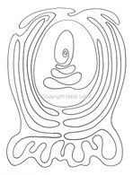 Labyrinthia Printable Colouring & Meditation Page 28