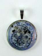 Orgonite Pendant - Blue Moon