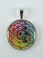 Orgonite Pendant - Rainbow