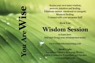 Wisdom Sessions