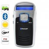 Handsfree  Solar Powered Bluetooth Car Kit