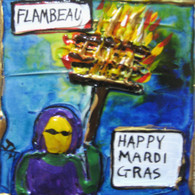 Flambeau mini painting