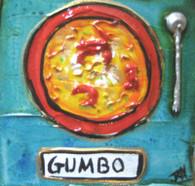 Gumbo mini painting