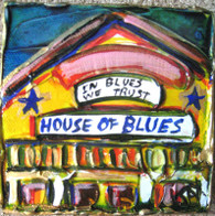 House of Blues mini painting