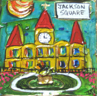 Jackson Square mini painting