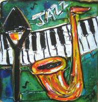 Jazz mini painting