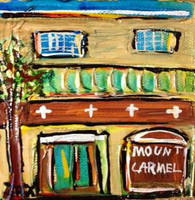 Mt. Carmel Academy mini painting