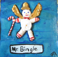 Mr. Bingle mini painting