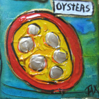 Oysters mini painting