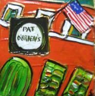 Pat O'Brien's mini painting