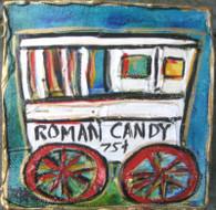 Roman Candy mini painting