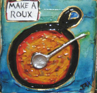 Roux mini painting