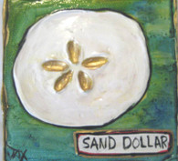 Sand Dollar mini painting