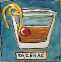 Sazerac mini painting