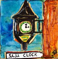 SLU - Clock mini painting