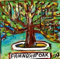 SLU - Friendship Oak mini painting