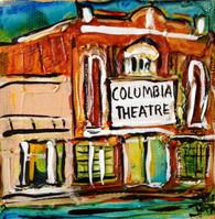 SLU - Hammond - Columbia Theatre mini painting