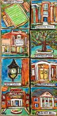 SLU - Hammond Collection mini paintings