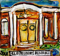 SLU - President's Residence mini painting