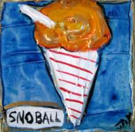 Sno-Ball mini painting