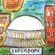 Superdome mini painting