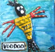 Voodoo mini painting