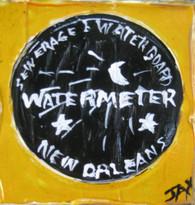 Watermeter mini painting