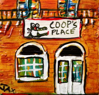 Coop's Place mini painting