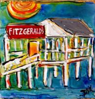 Fitzgerald's mini painting