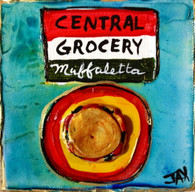 Central Grocery Muffaletta mini painting